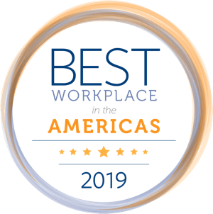 Best Workplace in Americas - 2019